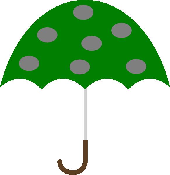 Green Umbrella Clip Art at Clker.com.