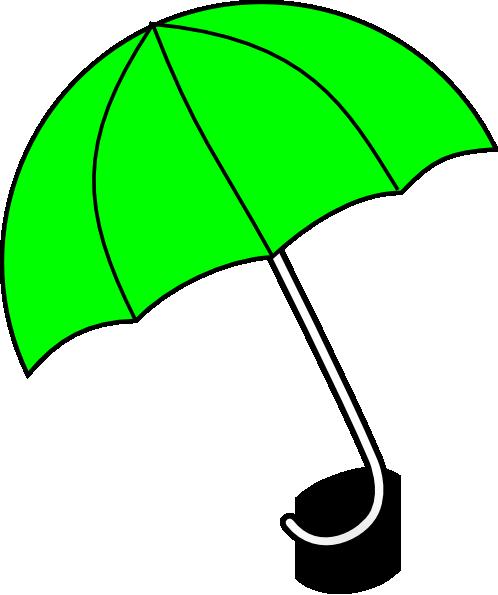 Apple Green Umbrella Clip Art at Clker.com.