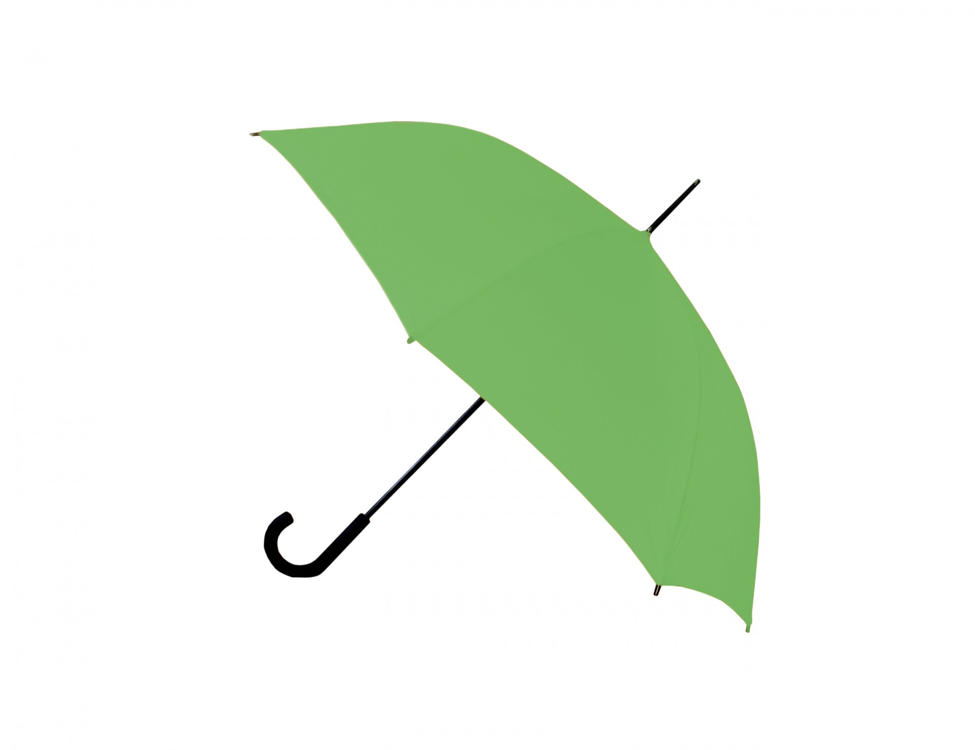 Green Umbrella Clipart Free Stock Photo.