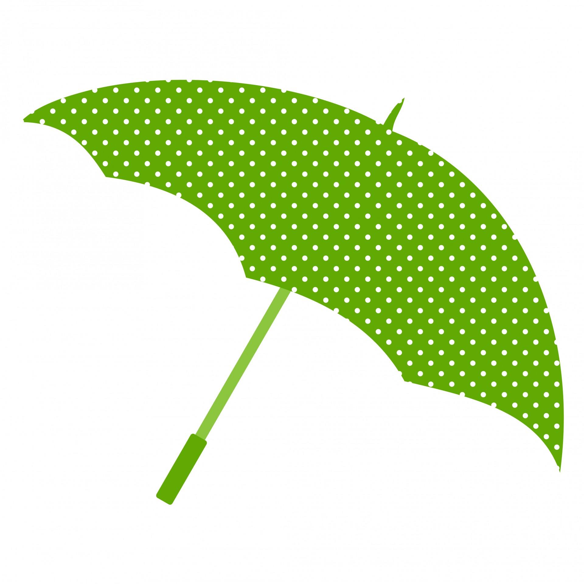 Green Umbrella Clipart Clip art of Umbrella Clipart #2345.