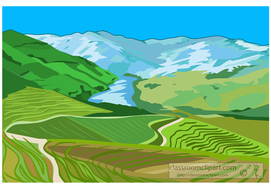 Valley Clipart.