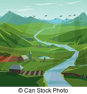 Green valley Illustrations and Clipart. 2,028 Green valley royalty.