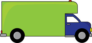 Free Moving Van Clipart Image 0515.
