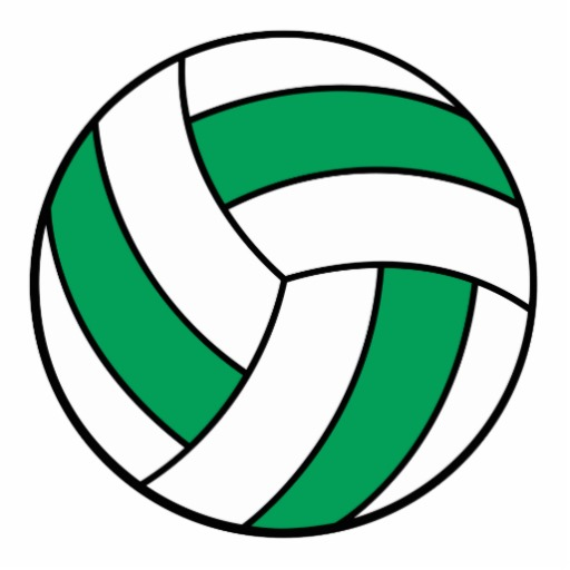 Volleyball clipart green, Volleyball green Transparent FREE.