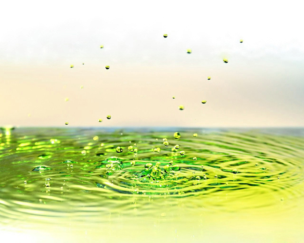 Green water clipart.