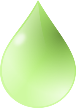 Color Wheel of Water Drop clipart.