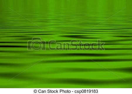 Green Water Clip Art.