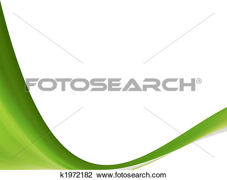 Clip Art of green white space natural k1972182.