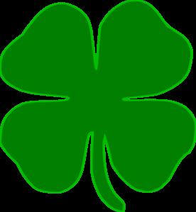 Shamrock clipart green.