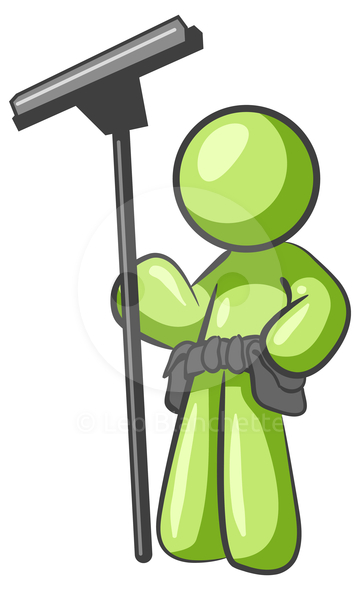 Free window cleaning clip art images.