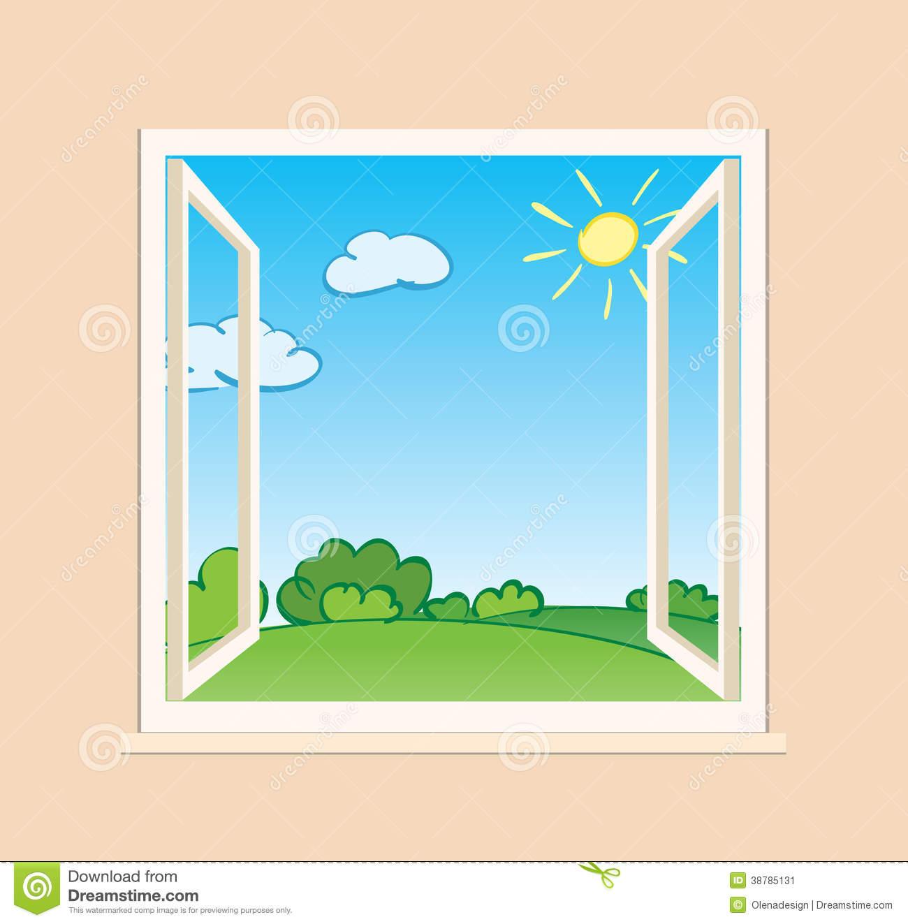 Windows clipart nature.