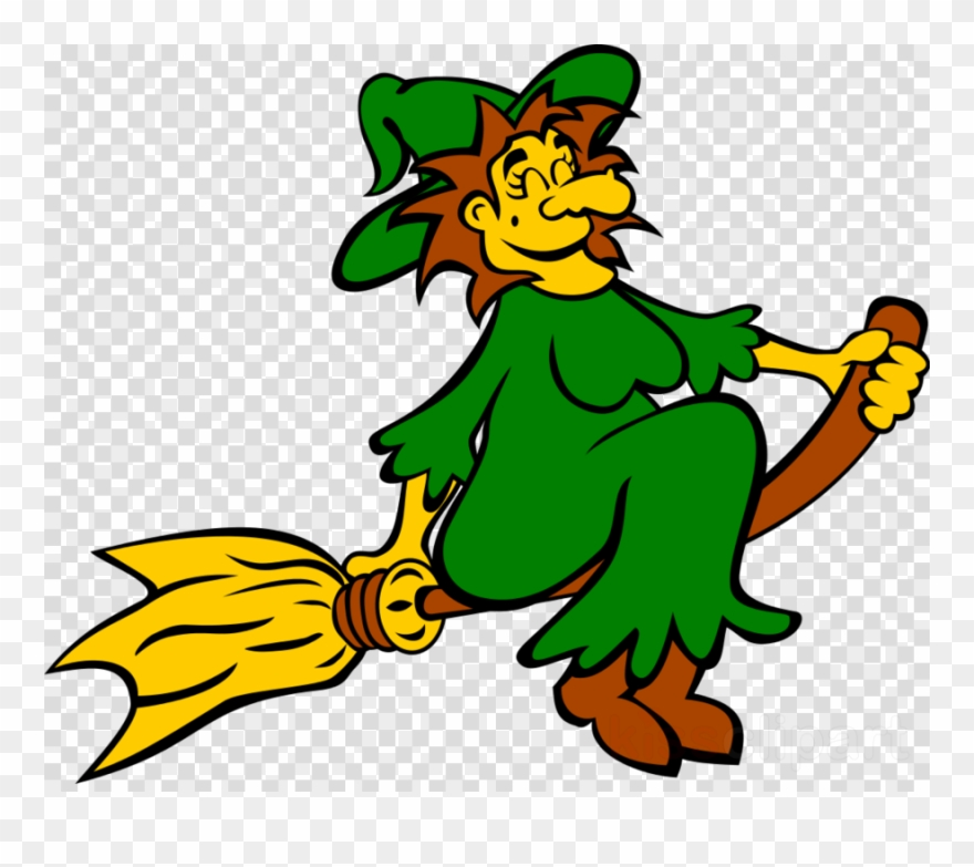 Green Witch Clipart Witchcraft Clip Art.