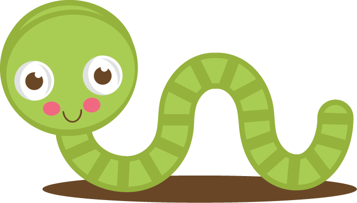 Green worm clipart png.