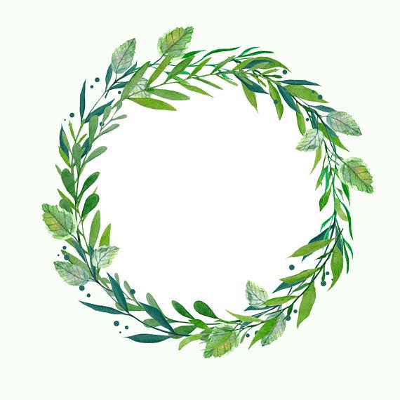 Hydrangea Wreath, Watercolor Wreath, Botanical Wreath, Wedding.