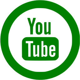 Green youtube 5 icon.