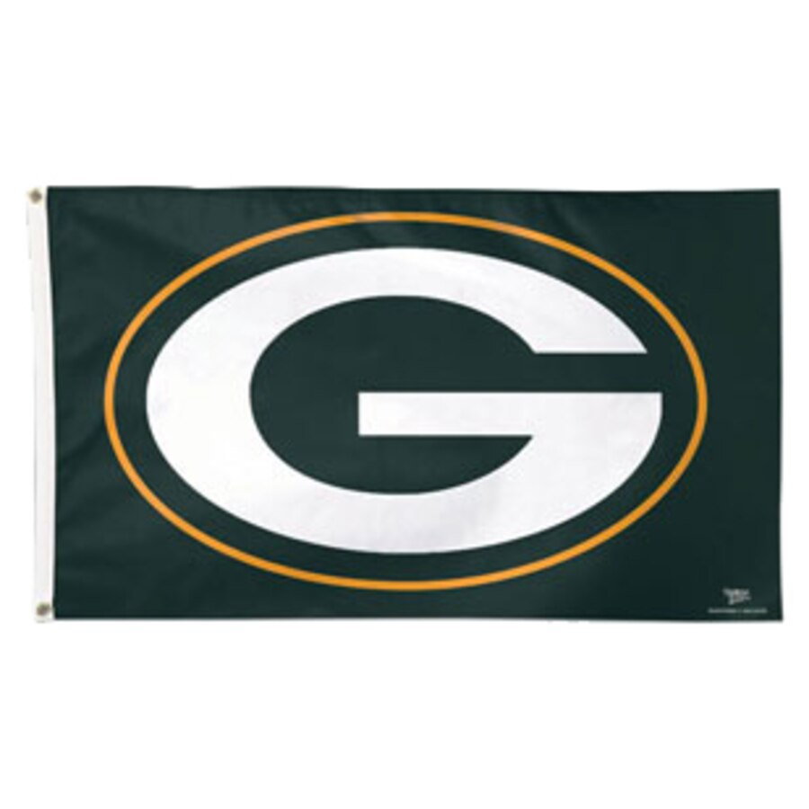 Green Bay Packers WinCraft Deluxe 3\' x 5\' Logo Flag.