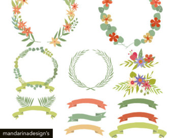 Greenery clipart.