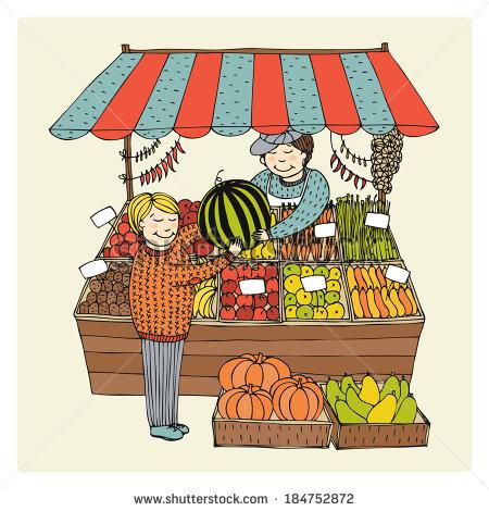 Greengrocer Banque d'Image Libre de Droit, Photos, Vecteurs et.