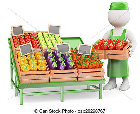 Greengrocer Illustrations and Clipart. 251 Greengrocer royalty.
