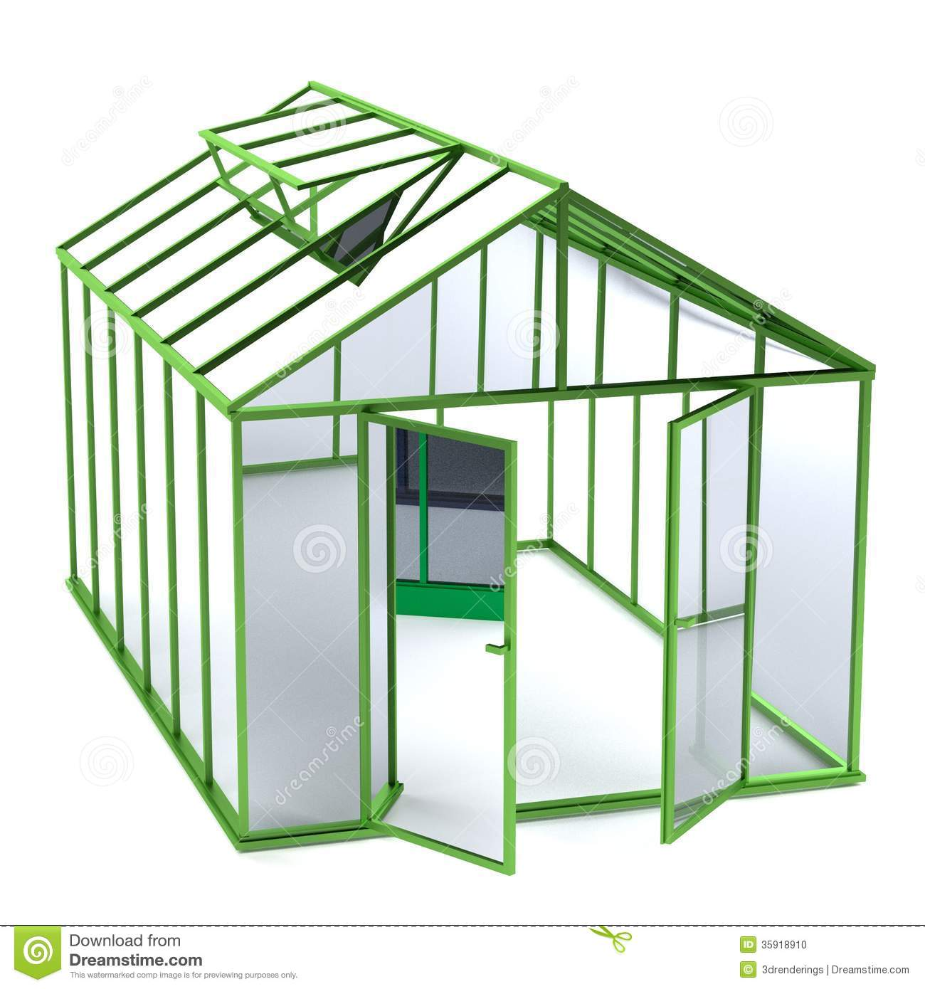 Greenhouse Clipart.