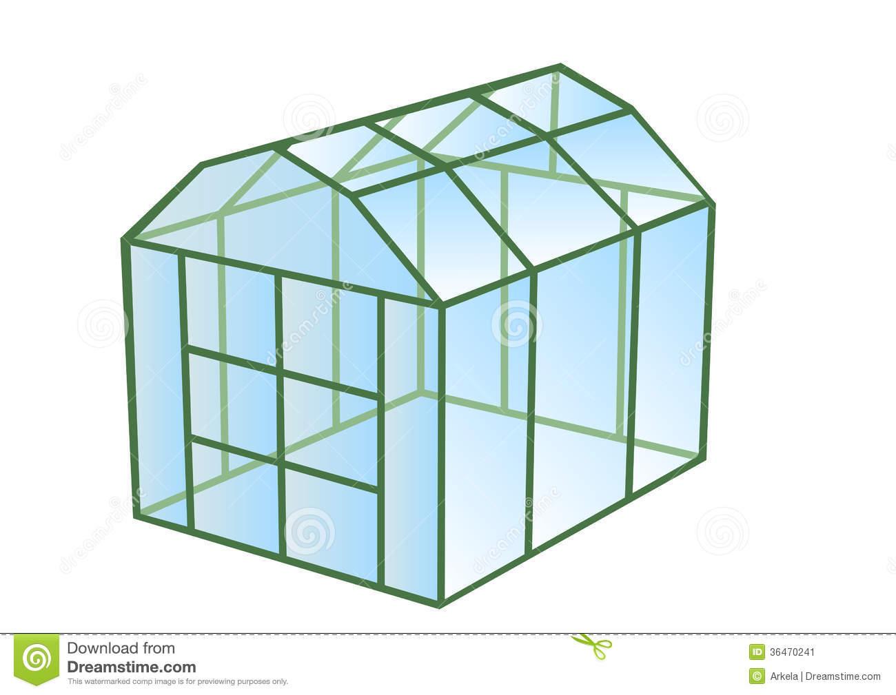 Greenhouse Stock Image.
