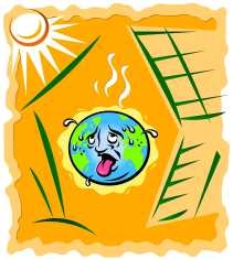 Green House Effect Clipart.
