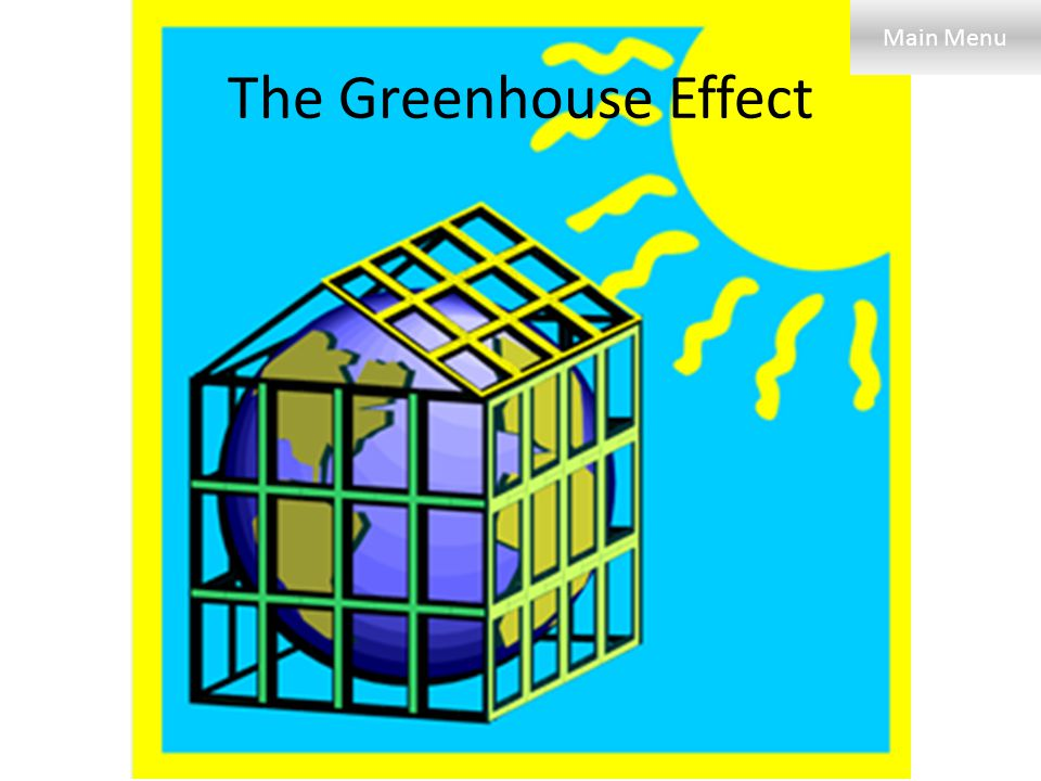 Clipart Greenhouse Effect.