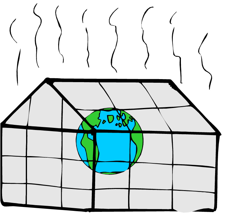 Greenhouse Gases Cliparts.