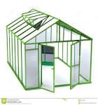Greenhouse season clipart.