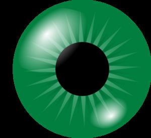 Green eyes clip art clipart.
