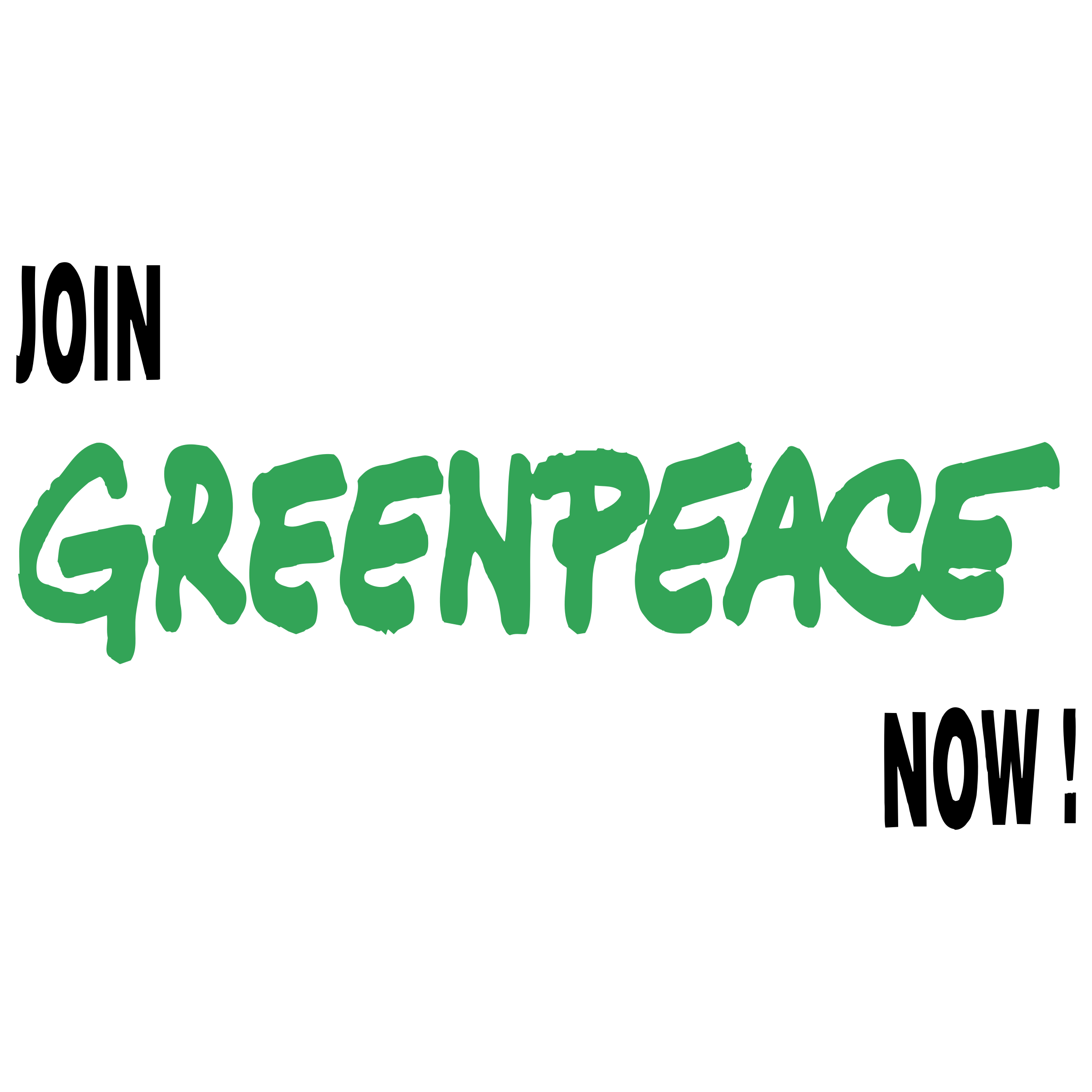 GreenPeace Logo PNG Transparent & SVG Vector.