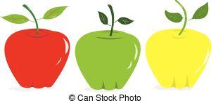 Apples Vector Clip Art EPS Images. 50,054 Apples clipart vector.