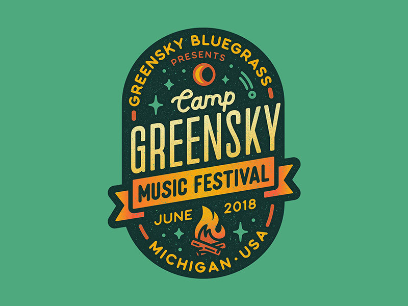Camp Greensky by Julia Williams on Dribbble.