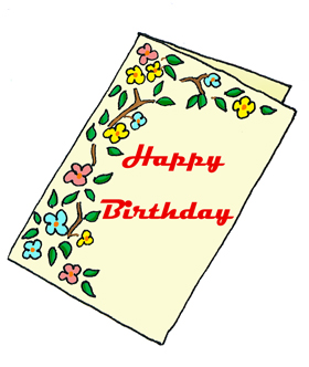 Clipart greeting cards.