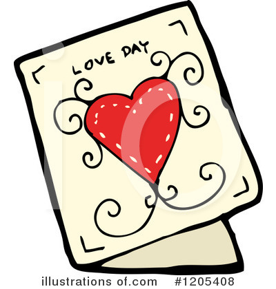 Greeting Card Clipart #1205408 Illustration By.