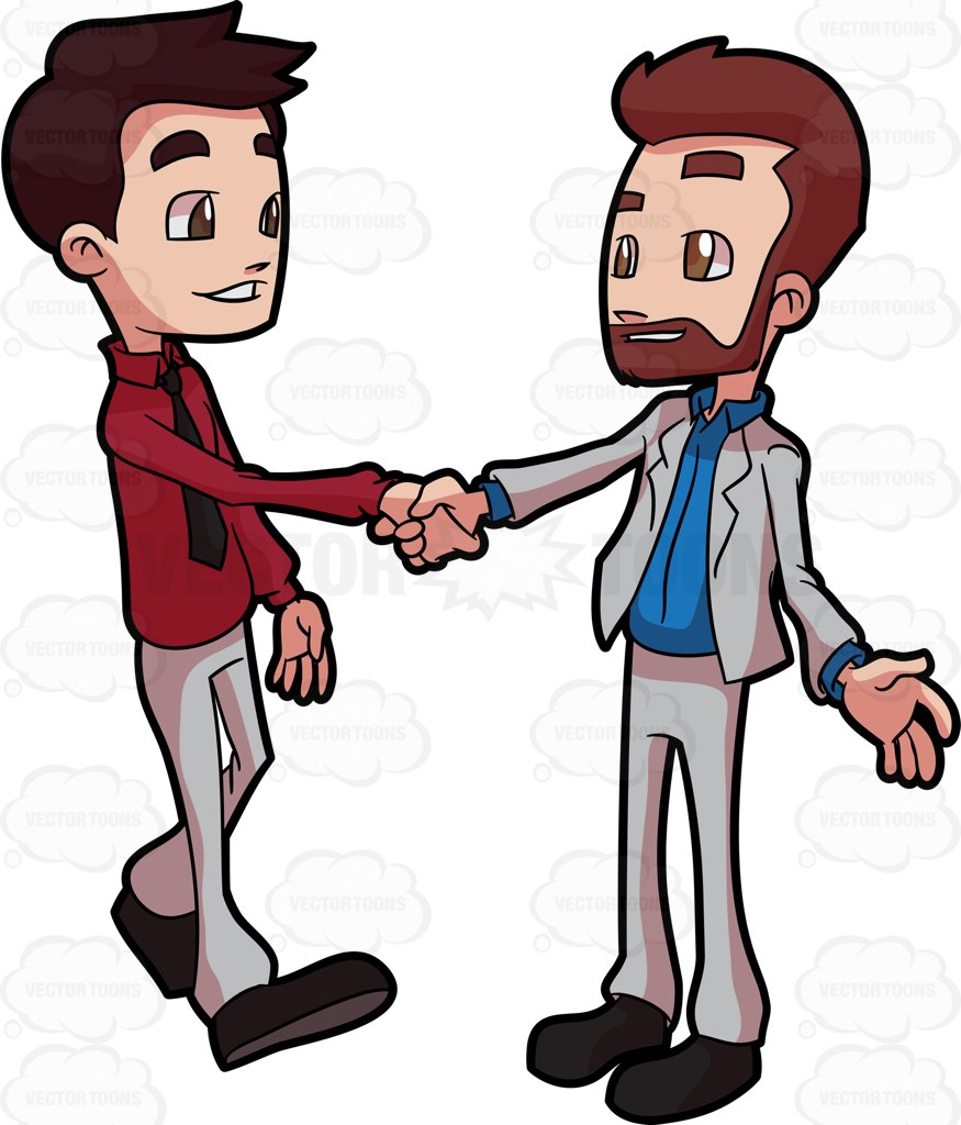 People greeting clipart.