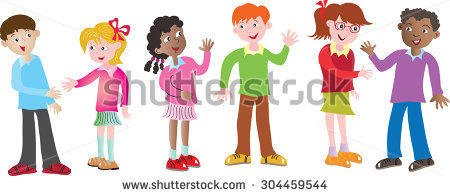 People greeting each other clipart 6 » Clipart Station.