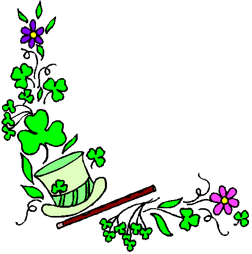 Free St Patricks Day Greetings Clipart.