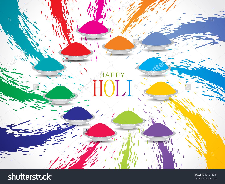 Beautiful Greeting Card Design Indian Festival Stock Vector.