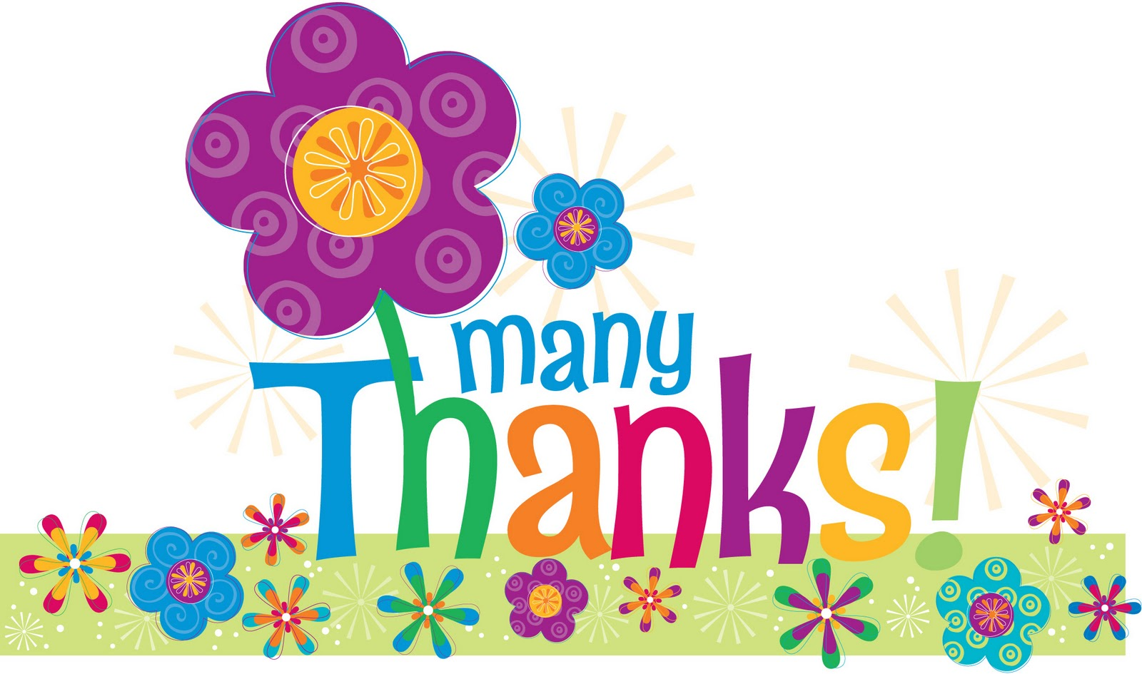 Thank you greetings dinner clipart.