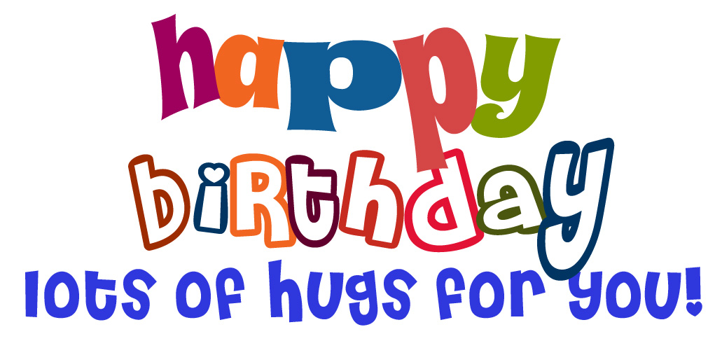 Happy Birthday Greetings Clipart.