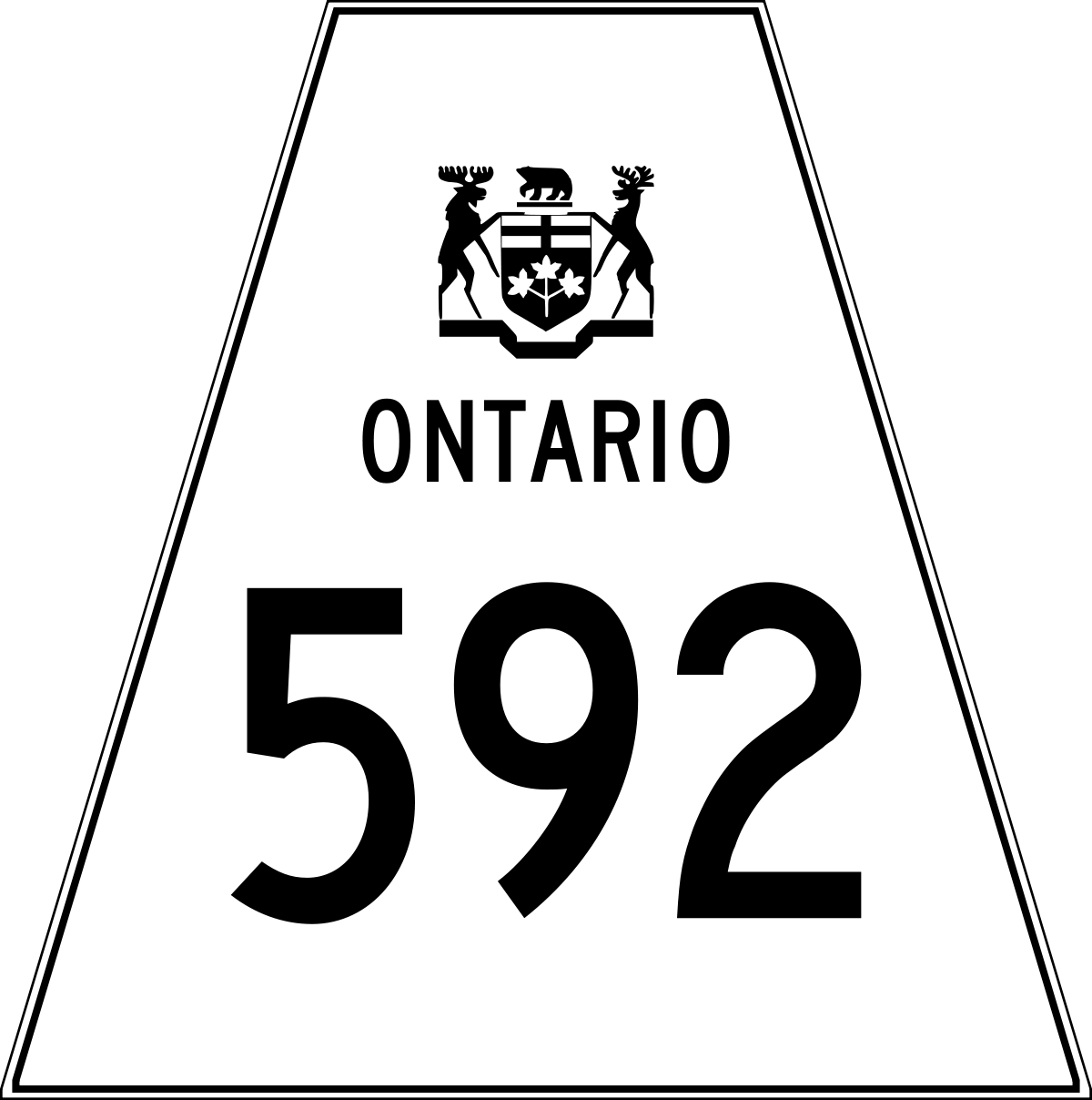 List of secondary highways in Parry Sound District.
