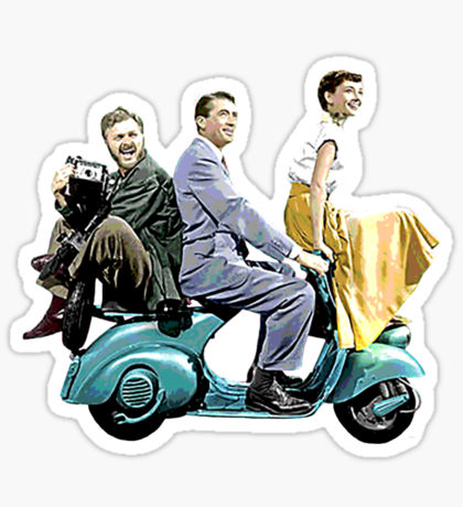 Gregory Peck: Stickers.