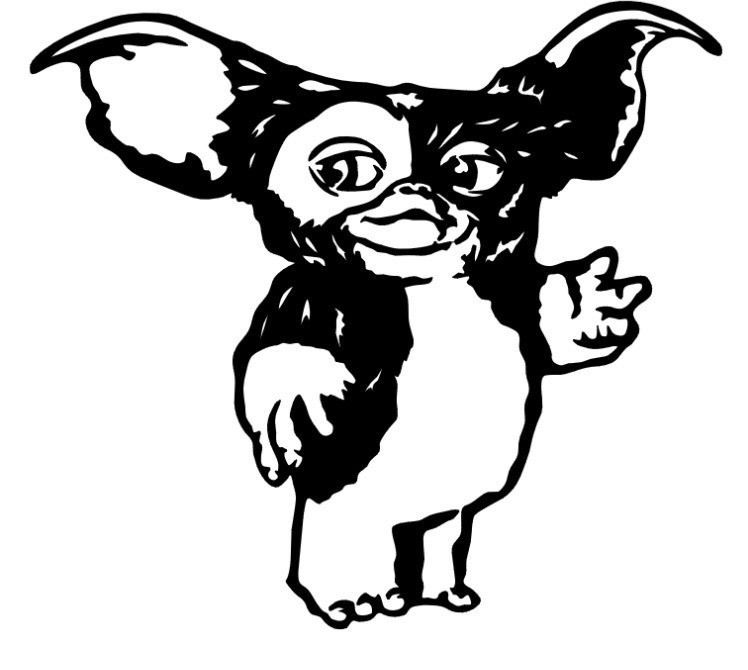 Details about GREMLIN GIZMO Gremlins Vinyl Decal Sticker Car.