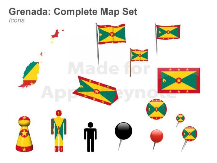 Muezart Grenada Map.