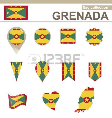 286 Grenada Map Stock Vector Illustration And Royalty Free Grenada.