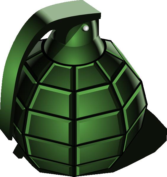 Hand grenade clipart #7