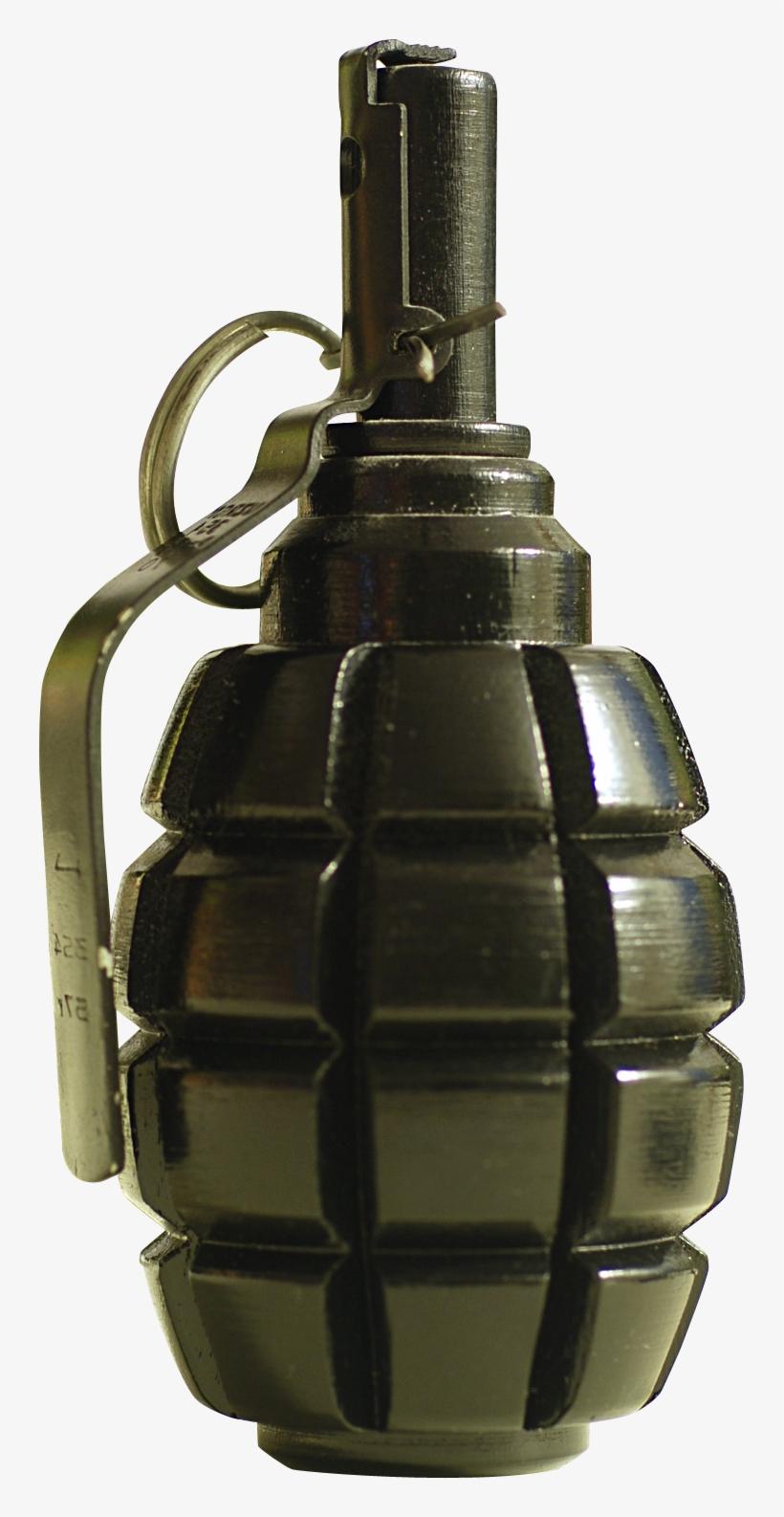 Hand Grenade Png Transparent Image.