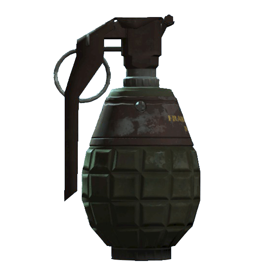 Fallout 4 Grenade transparent PNG.