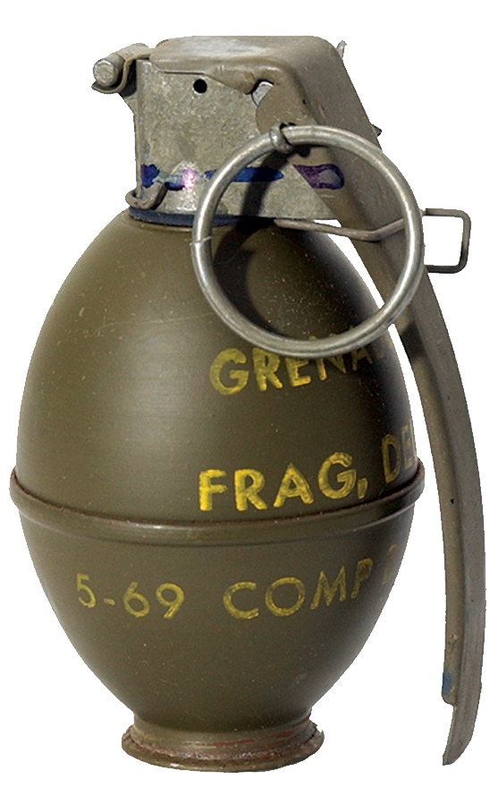 Grenade PNG images.